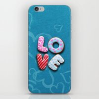 Only Love 9 iPhone & iPod Skin