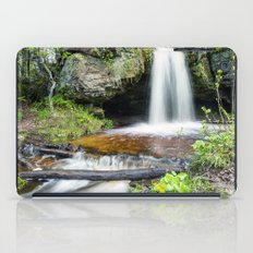 Scott Falls in Spring - Au Train Michigan iPad Case