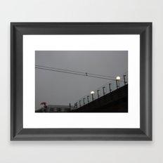 togstasjonen Framed Art Print