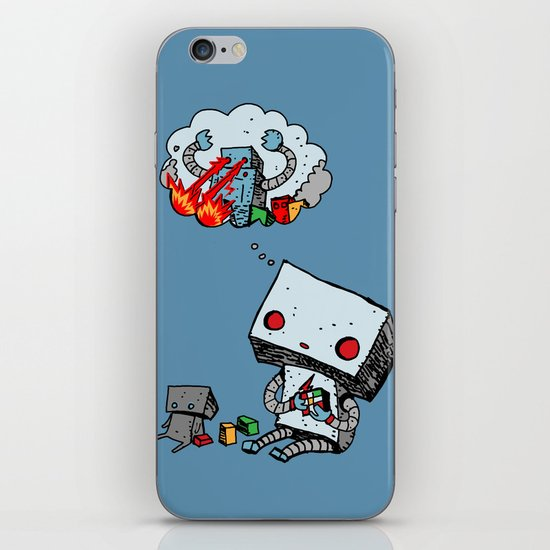 A Dream About the Future iPhone & iPod Skin