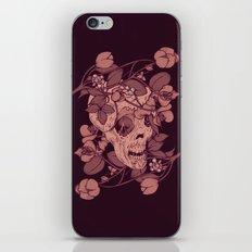 Rotting flowers iPhone & iPod Skin
