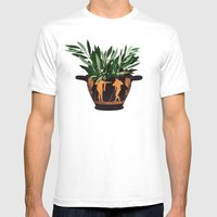 Ancient Greek 2 Mens Fitted Tee White SMALL
