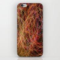 Lightpainting iPhone & iPod Skin