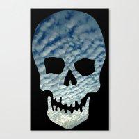 Sky Skull Canvas Print