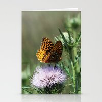 Aphrodite Fritillary  Stationery Cards
