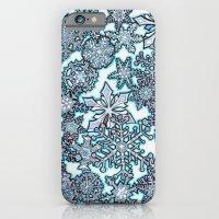 Gentle Snowstorm iPhone 6 Slim Case