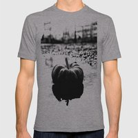 Power plant pumpkin Mens Fitted Tee Athletic Grey SMALL