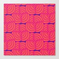 Purple & Orange Canvas Print
