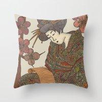 Masamiosa Throw Pillow