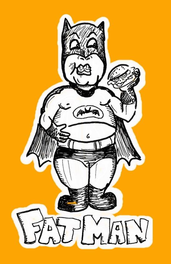Fatman Art Print