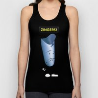Depressed Zinger - For D… Unisex Tank Top