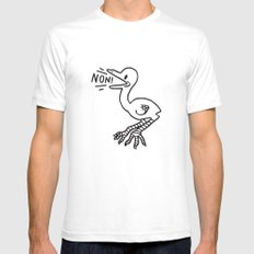NON! Mens Fitted Tee White SMALL