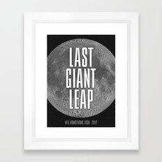Last Giant Leap Framed Art Print