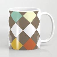 Checkers Fall Mug