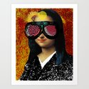 Mona ViLisa 2 Art Print