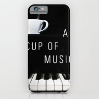 Piano & Coffee iPhone 6 Slim Case