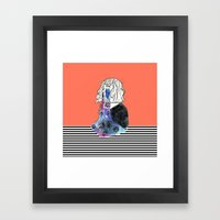 Universe Eyes Framed Art Print