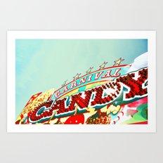 Carnival Candy Art Print