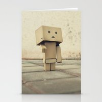 Danbo On The Street Stationery Cards