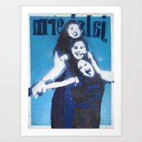 3 $i$ters Art Print