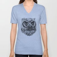 Intense Owl G137 Unisex V-Neck