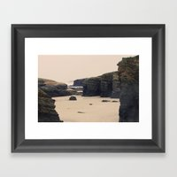 Las Catedrales Framed Art Print