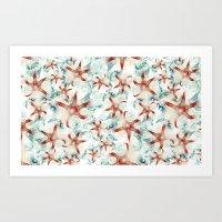 SeaStars Art Print