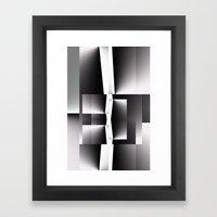 Unstable Stability Framed Art Print
