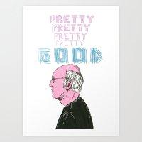 Curb Your Enthusiasm, Pretty Good. Art Print