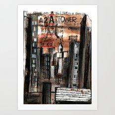 Strong Tower Art Print