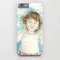iPhone & iPod Case featuring Spring Gust by Aiko Tagawa