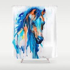 Horseee Shower Curtain