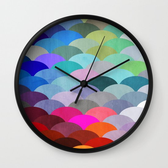Scales Wall Clock