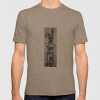 rabbit Mens Fitted Tee Tri-Coffee SMALL
