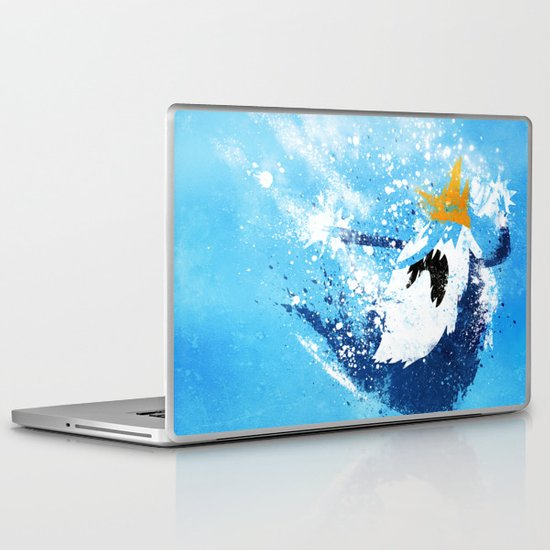 Why did you eat my fries? Laptop & iPad Skin