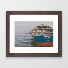Sail away with me Framed Art Print