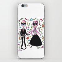 Rock de la muerte iPhone & iPod Skin