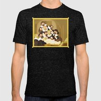 The Anatomy Lesson By Re… Mens Fitted Tee Tri-Black SMALL