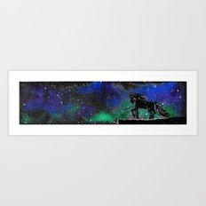 Horse in the Sky Art Print