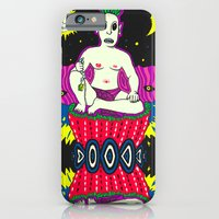 iPhone & iPod Case featuring The Demon by NIXA