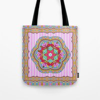 Mix&Match;  Pretty Pink Mandala Meditation pillow 03 Tote Bag