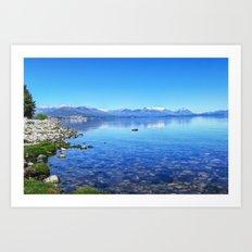 Lago Nahuel Huapi Art Print