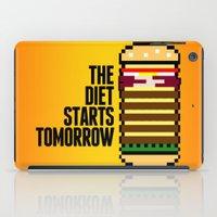 Diet Burger iPad Case