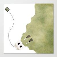 Scuba Tea Canvas Print