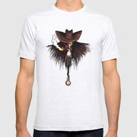 Charon, boatman of the dead Mens Fitted Tee Ash Grey SMALL