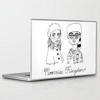 moonrise kingdom Laptop & iPad Skins featuring Moonrise Kingdom by ☿ cactei ☿