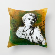 Wing Series Three (Angel) Throw Pillow