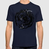 Tardis  - Doctor Who  Mens Fitted Tee Navy SMALL