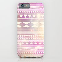 iPhone & iPod Case featuring Galaxy Tribal by haleyivers