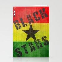 Ghana Black Stars Stationery Cards
